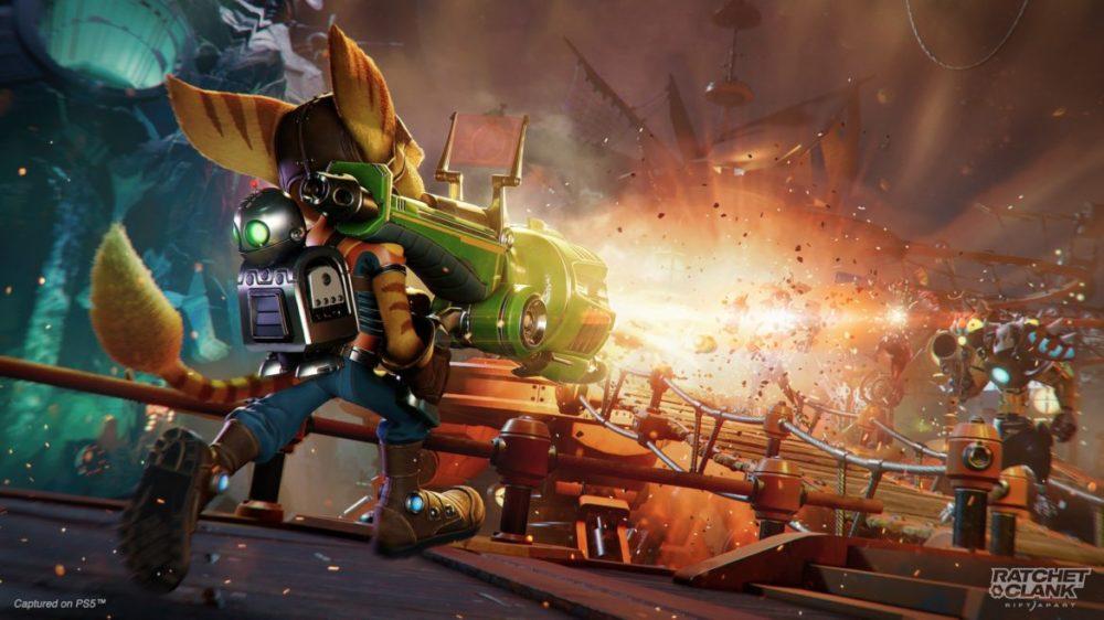 Ratchet & Clank: Rift Apart PS5 Vapen