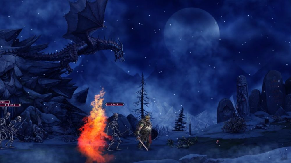 Press image: Ellada Games - Niffelheim - copyright 2021 - Fighting dragon.