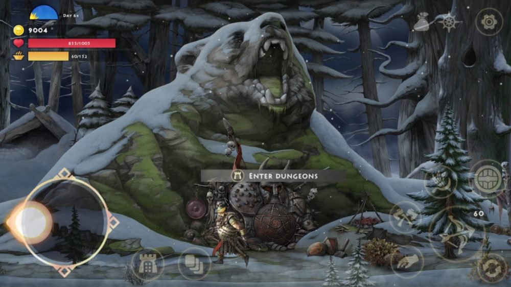 Press image: Ellada Games - Niffelheim - copyright 2021 - Outside Bear Dungeon.