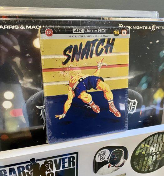 Snatch UHD 4K tävling senses