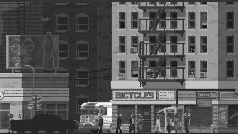 Pressbild: Raw Fury - The Longest road on earth - copyright 2021 - The city.