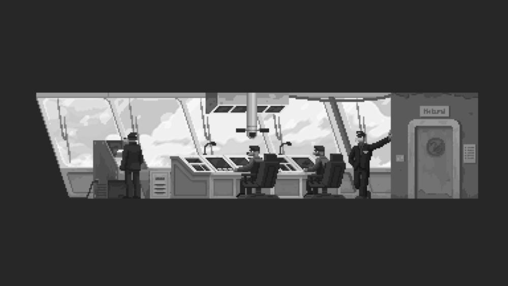 Pressbild: Raw Fury - The Longest road on earth - copyright 2021 - The bridge.