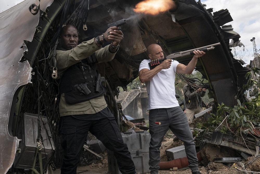 Pressbild: © 2021 Universal Pictures. - Fast & Furious 9 - Shootout.