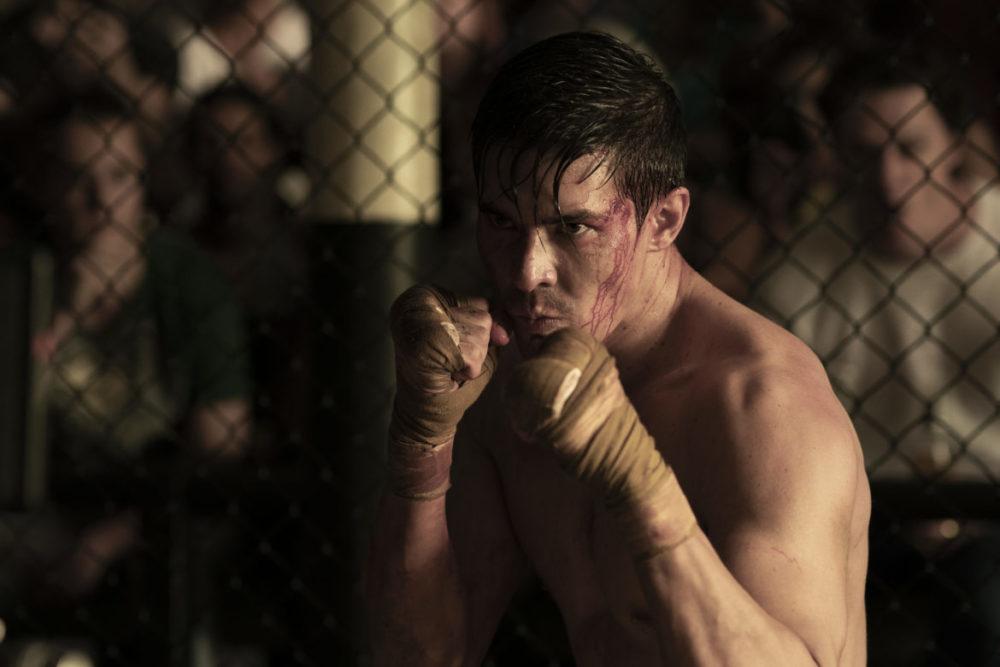 Pressbild: SF-Studios - Mortal Kombat - Copyright 2021 - Close up, looking for a fight.