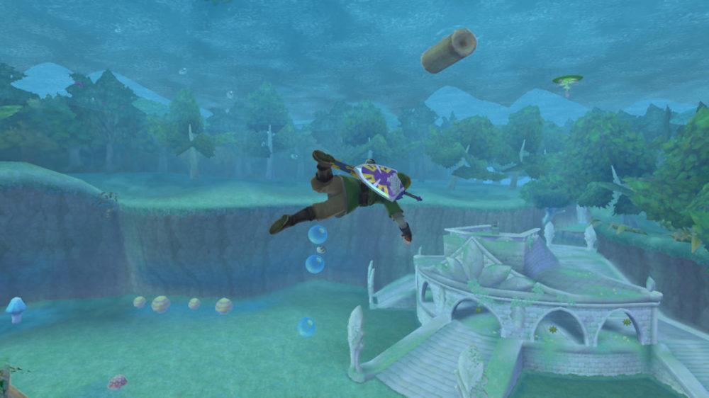 The Legend of Zelda: Skyward Sword HD Switch review senses Photo: Nintendo