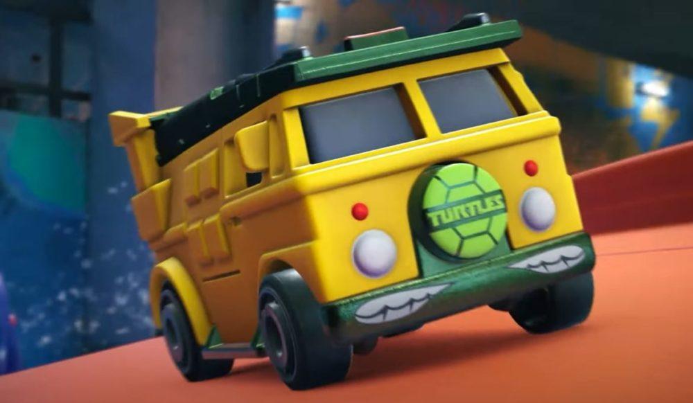 Hot Wheels Unleashed - © 2021 Milestone - Turtles Van