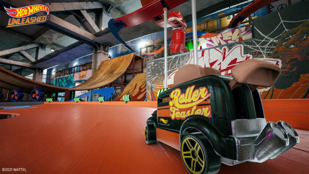 Hot Wheels Unleashed - © 2021 Milestone - Roller Toaster car